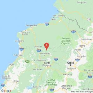 Un sismo de magnitud 4,9 sacude la provincia de Esmeraldas