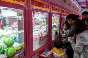 La fiebre de las maquinas de peluches sacude Taiwán y crea 100.000 empleos