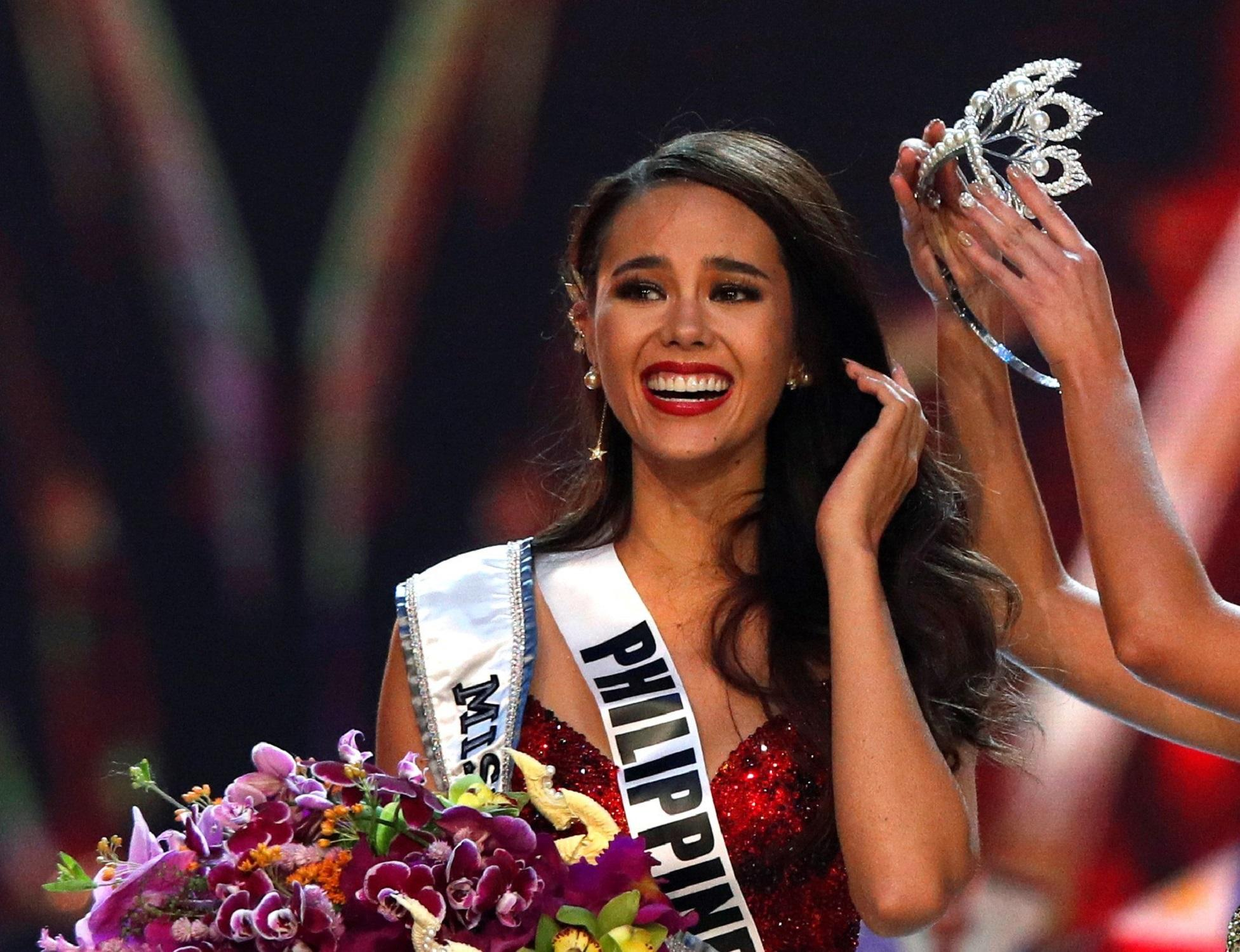 Catriona es la cuarta filipina en ganar la corona de Miss Universo ...