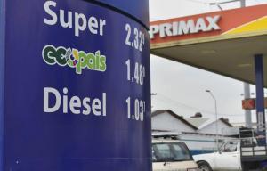 Gobierno anuncia reducción de subsidios; sube el precio de la gasolina extra y ecopaís