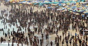 Río de Janeiro registra el día más caliente del año a tres días del verano