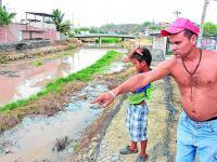 La contaminación aumenta en río Manta