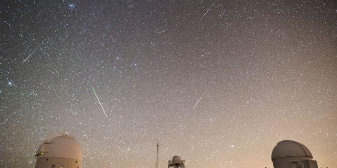 Llega la primera lluvia de estrellas del año
