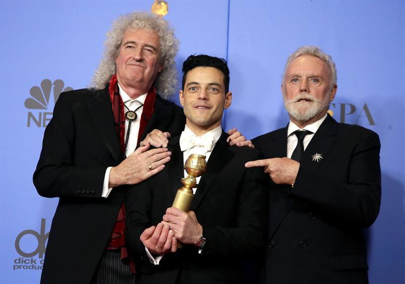 Rami Malek gana el Globo de Oro al mejor actor de drama por ''Bohemian Rhapsody''
