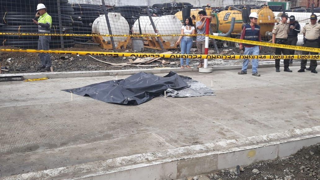 Obrero muere tras recibir descarga eléctrica, en Portoviejo