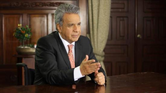 Presidente Moreno insta a no votar ''por la corrupción'' en próximas elecciones