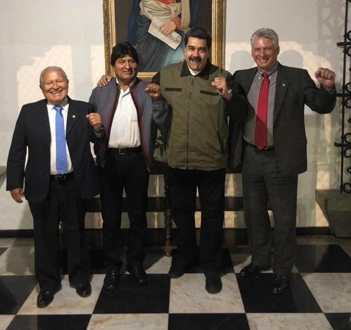 Cinco jefes de Estado acuden a controvertida jura de Maduro en Venezuela