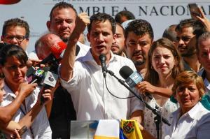 Guaidó dice su breve detención muestra ''desespero'' del Gobierno venezolano