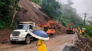 Habilitada la vía Alóag-Santo Domingo