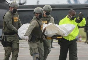 La Fiscalía de Colombia dice que el ADN del cadáver de 'Guacho' coincide con el de su madre