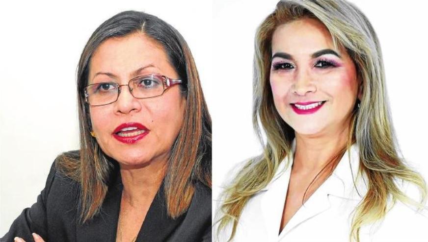 Dos mujeres buscan la prefectura de Manabí