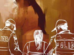 Madre presa por prostituir a una menor de edad en el cantón Pichincha