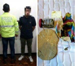 Once detenidos en operativos contra el microtráfico, asalto y robo en Ecuador
