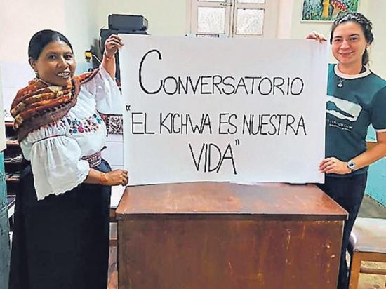 Dictan cursos de lenguas indígenas en un museo