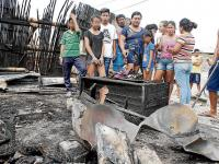 Familia se salva de una explosión