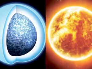 Nuestro sol se transformará en una joya de cristal