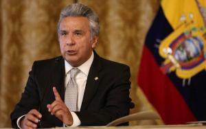 Presidente Moreno anuncia brigadas para 'controlar la situación legal' de venezolanos