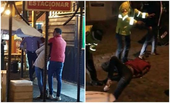 Joven venezolano asesina a una mujer tras tomarla como rehén en plena vía pública