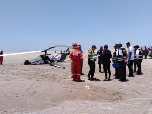 Coronel y teniente del Ejército mueren tras caer helicóptero en el sur de Perú