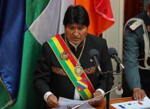 Evo Morales celebra sus trece años en el poder con un mensaje de continuidad