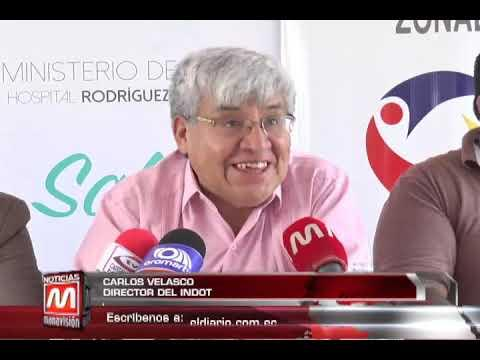 Hospital de Manta firma convenio con el Indot para formar parte del programa Amigos de la Donación