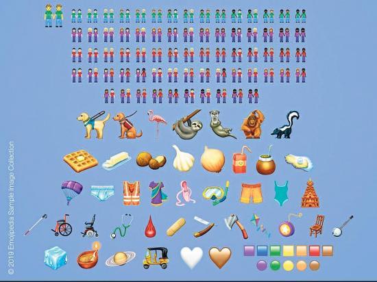 Nuevos emojis llegan en marzo