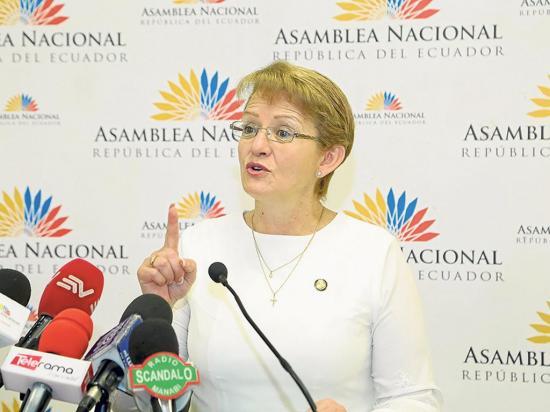 Norma Vallejo afronta cargos