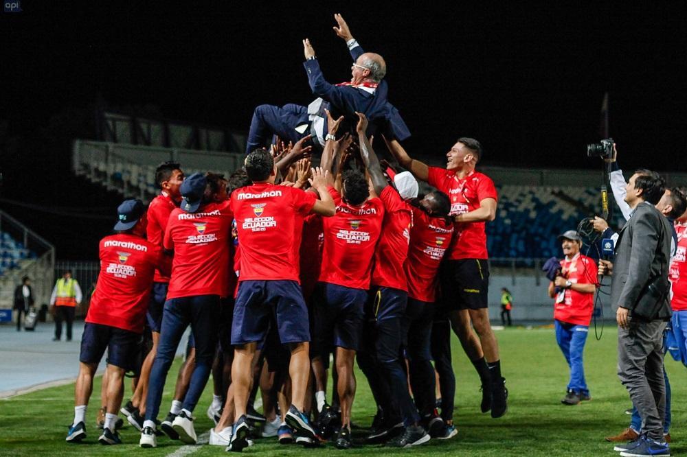 Presidente Moreno cree que título sudamericano da inicio a carrera exitosa