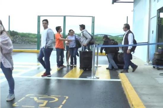Desvían al aeropuerto de Manta vuelos que tenían como destino Guayaquil