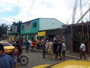 Dos personas heridas durante asalto en una tienda de Portoviejo