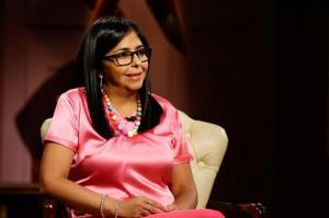 Vicepresidenta venezolana dice que ayuda alimentaria de EEUU 'es cancerígena'