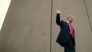 Trump considera ''interesante'' la idea de pagar el muro con dinero de El Chapo
