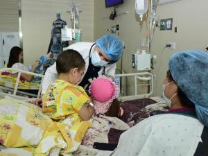 Tres tipos de cáncer son los que más afectan a niños