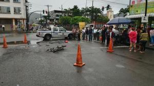 Colombiano muere  atropellado