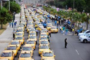 Taxistas de Manta paralizarán su servicio este 18 de febrero
