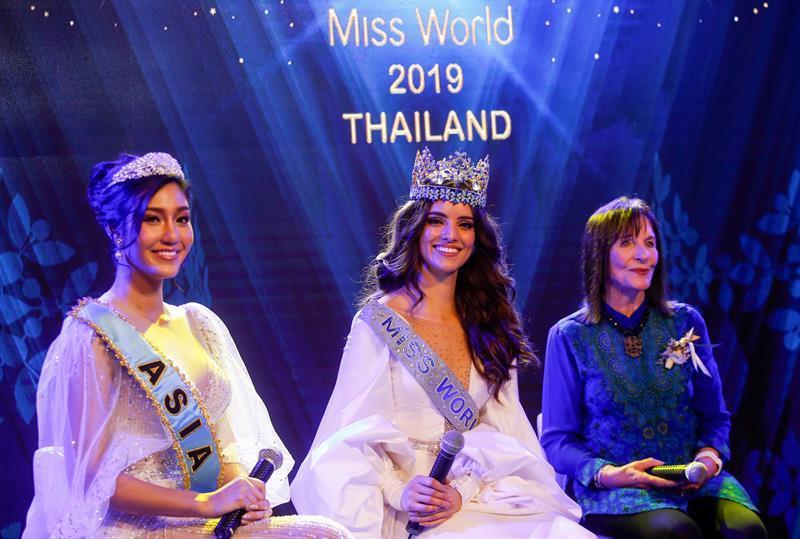 Tailandia acogerá en diciembre el certamen de belleza Miss Mundo 2019