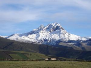 Cambio climático amenaza a dos de los siete glaciares de Ecuador