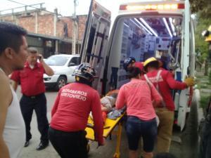 Portoviejo: La pierna de un niño quedó atrapada en una tubería