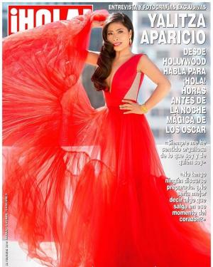 ¡Espectacular! Así luce Yalitza Aparicio en la portada de ¡Hola! México