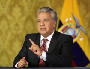 Moreno anuncia créditos de organismos internacionales por 10.000 millones de dólares