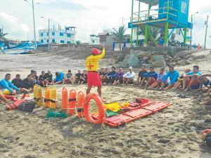 Más salvavidas y seguridad en el carnaval