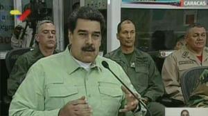 Maduro cierra frontera con Brasil y dice que evalúa hacerlo con Colombia
