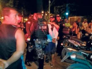 Ocho detenidos tras balacera en los alrededores del Verdi Cevallos
