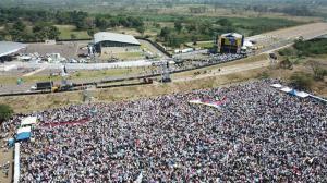 Concierto 'Venezuela Aid Live' congrega a miles de personas