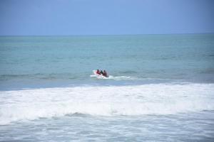 Menor desaparece mientras se bañaba en la playa de San Lorenzo