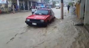 Varios sectores de Portoviejo, afectados por las lluvias
