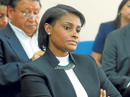Diana Salazar obtuvo  la mejor puntuación  para ser la nueva fiscal