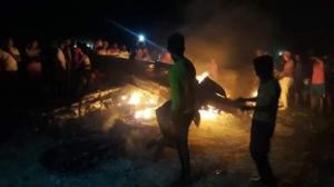 Una avioneta con droga se estrella en Montecristi