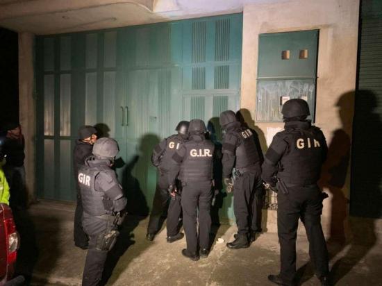 Policía Nacional desarticula una docena de organizaciones delictivas