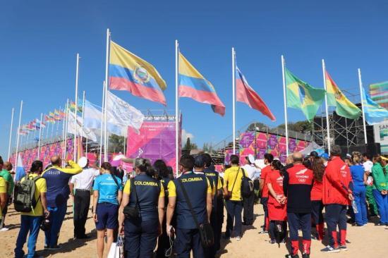 Comienzan en Argentina los cuartos Juegos Suramericanos de Playa